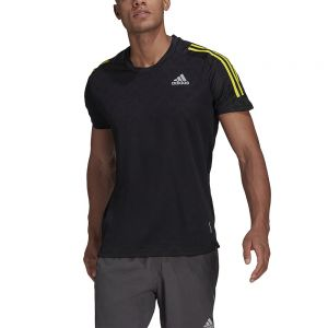 Camiseta Adidas Own The Run 3 Stripes Iteration Hombre